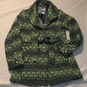 BKE wool winter coat super warm with lining!